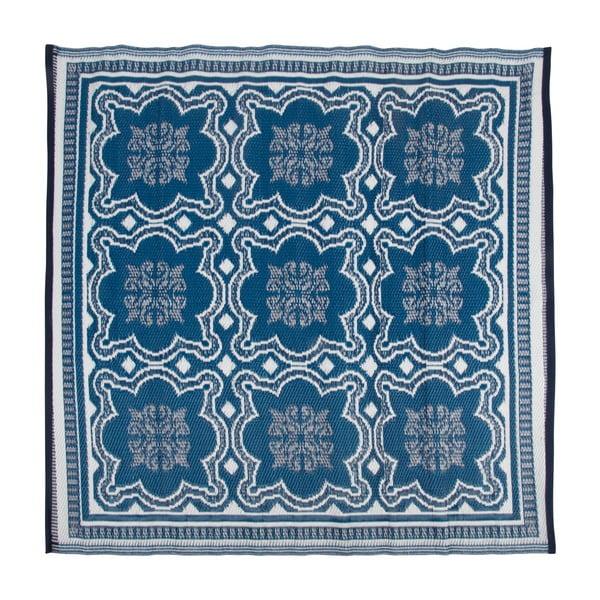 Obojstranný vonkajšie koberec Ego Dekor Blue Wish, 152 x 152 cm