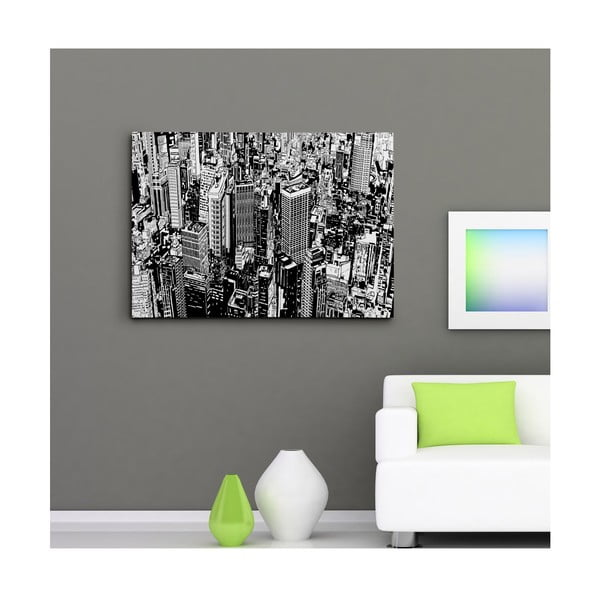 Obraz na plátně Manhattan z výšky, 50x70 cm