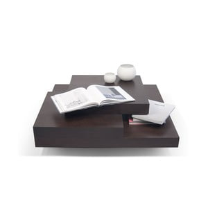 Konferenční stolek v dekoru tmavého dubového dřeva TemaHome Slate