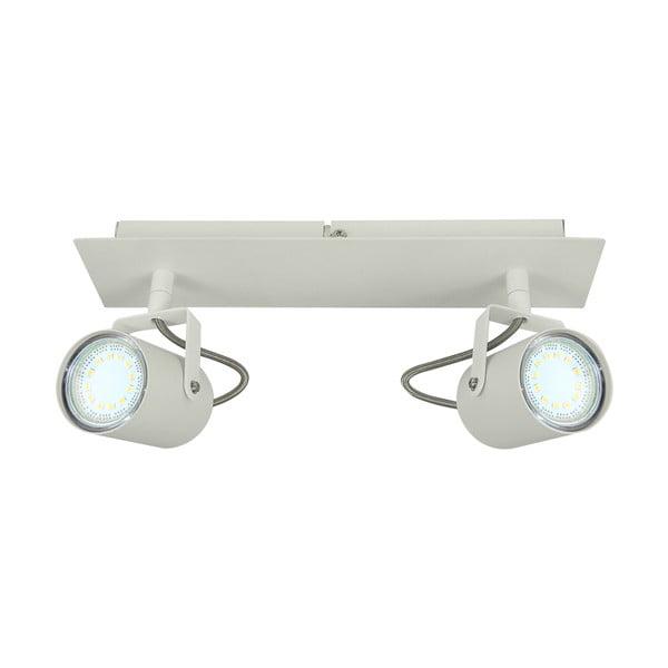Bílé stropní bodové svítidlo Kobi Arles Double