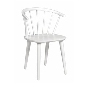 Bílá dubová židle Folke  Iddun