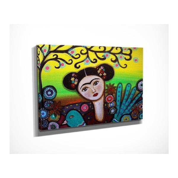 Girl vászon fali kép, 40 x 30 cm