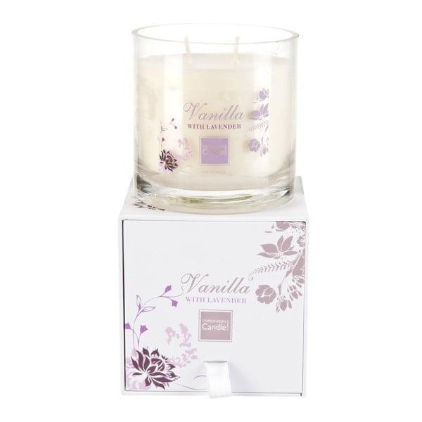 Aroma svíčka Vanilla & Lavender Medium, doba hoření 50 hodin