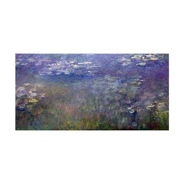 Obraz Claude Monet - Water Lilies 2, 60x30 cm