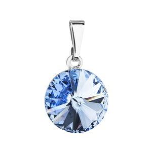 Modrý přívěsek se Swarovski krystalem Je Veux Mesmo, 20 mm