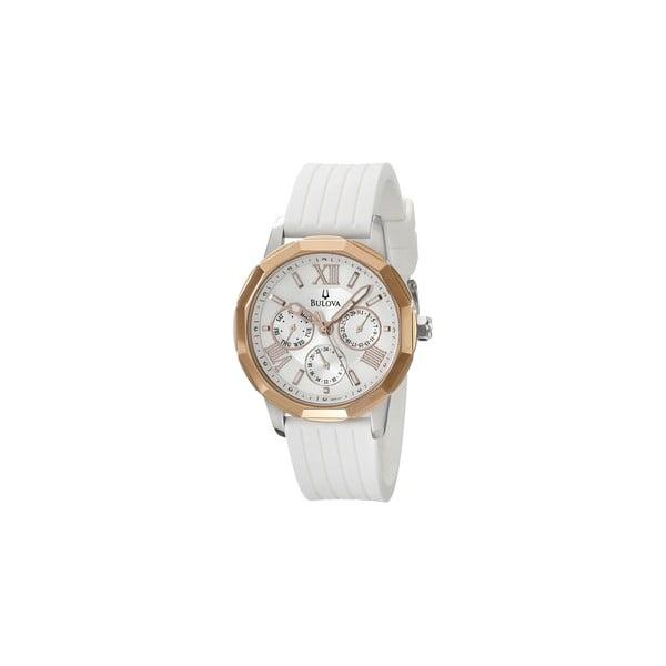 Dámské hodinky Bulova 98101 White/Grey