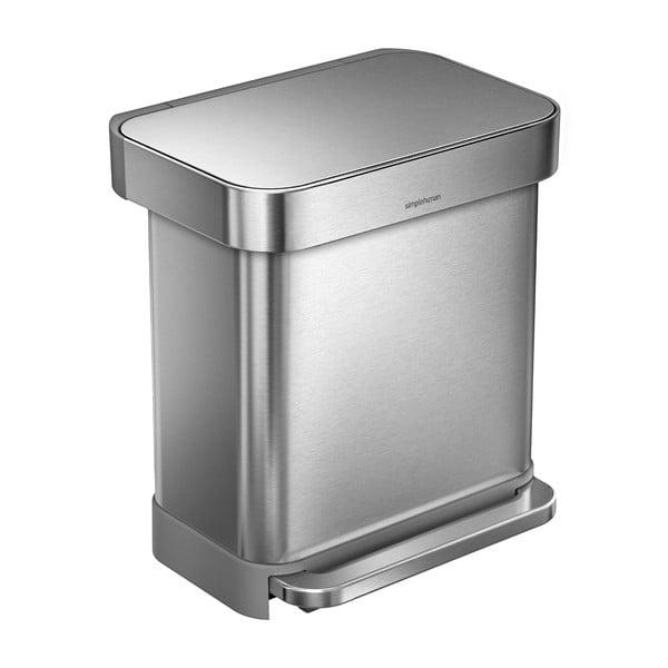 Odpadkový koš simplehuman, 30 l ocel
