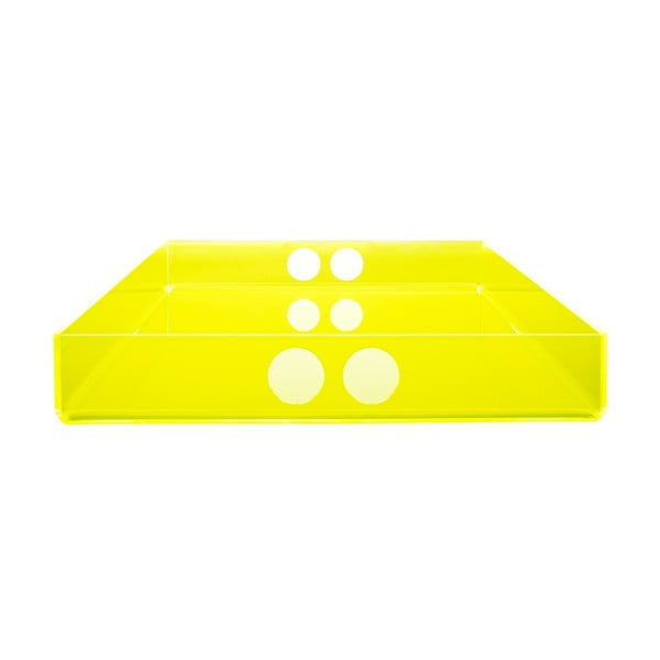 Podnos Tray Yellow, 30x41 cm