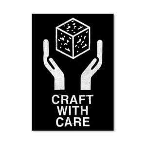 Plakát Craft With Care 2 od Florenta Bodart, 30x42 cm