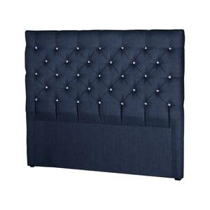 Tmavě modré čelo postele Stella Cadente Maison Pegaz, 140x118cm