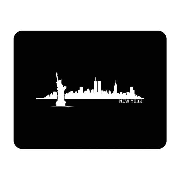 Ścienna dekoracja świetlna New York City, 82x67 cm