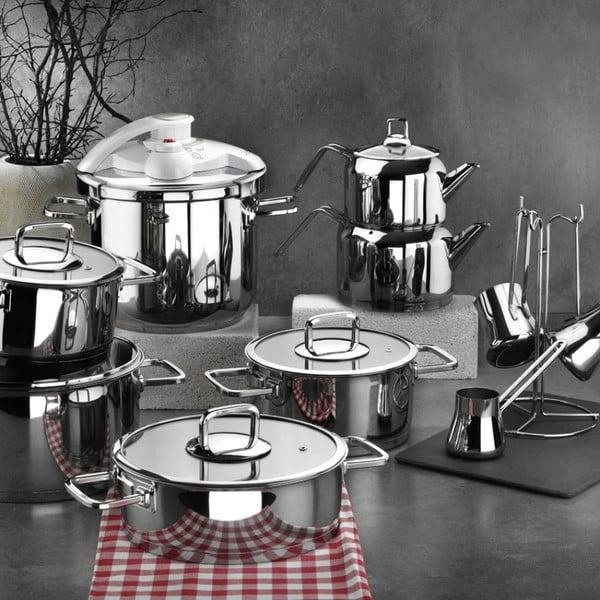 Set 18 ustensile de bucătărie din oțel Anthony