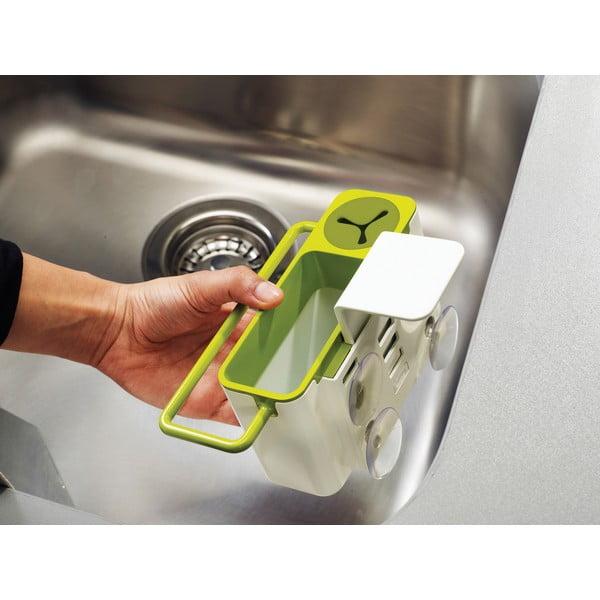 Suport pentru burete de vase/ detergent, gri