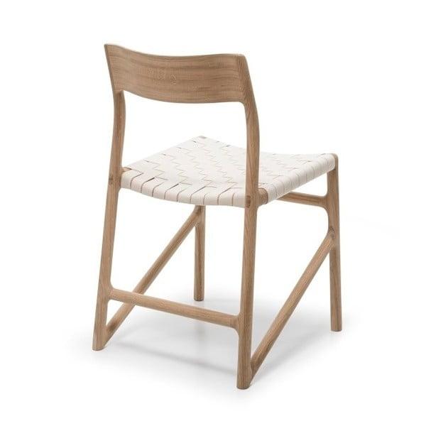 Židle Fawn White Pigment Gazzda, bílá