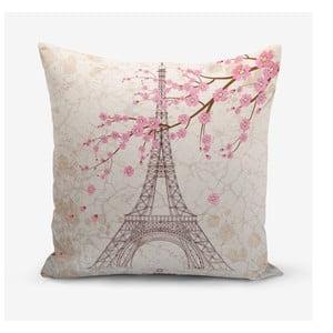 Povlak na polštář s příměsí bavlny Minimalist Cushion Covers Eiffel, 45 x 45 cm