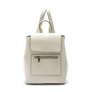 Béžový kožený batoh Roberta M Crusso