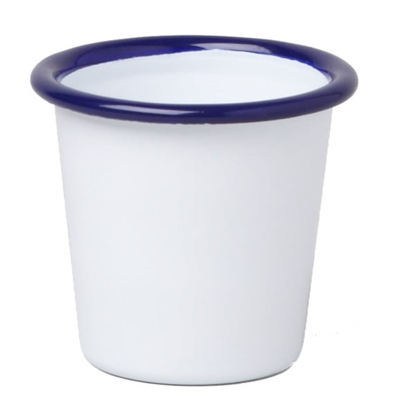Pahar smălțuit Falcon Enamelware, 124 ml, alb