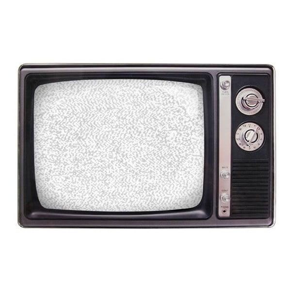 Fotorámeček Retro TV, černý