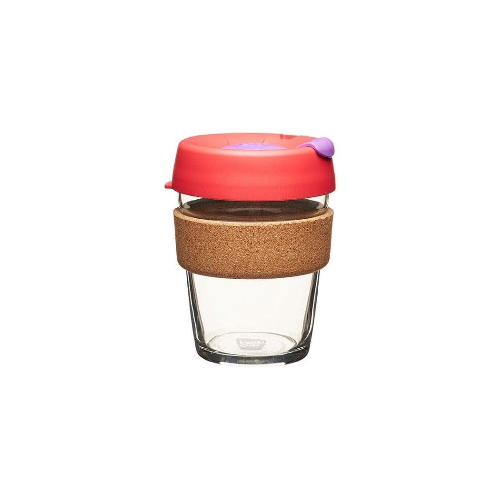 Cestovní hrnek s víčkem KeepCup Brew Cork Edition Sumac, 340 ml
