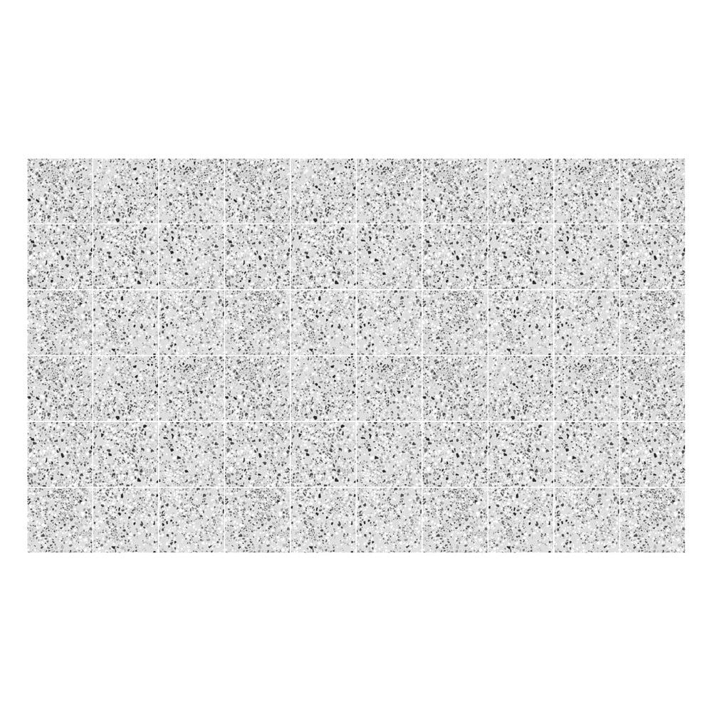 Sada 60 samolepek Ambiance Terrazo, 10 x 10 cm