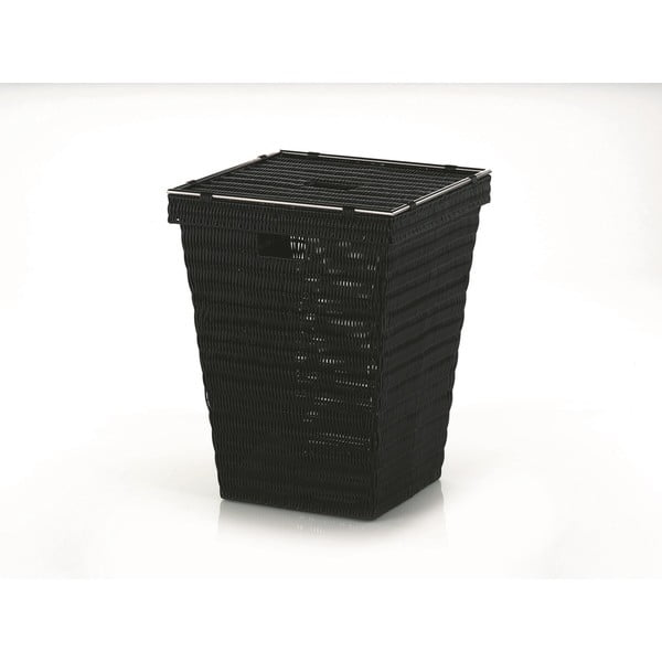 Prádelní koš Noblesse, černý