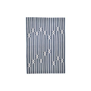 Ručně tkaný koberec Blue Knots Kilim, 150x250 cm
