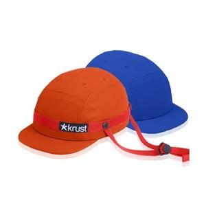 Cyklistická přilba Krust orange/red/blue s náhradní čepičkou, velikost S