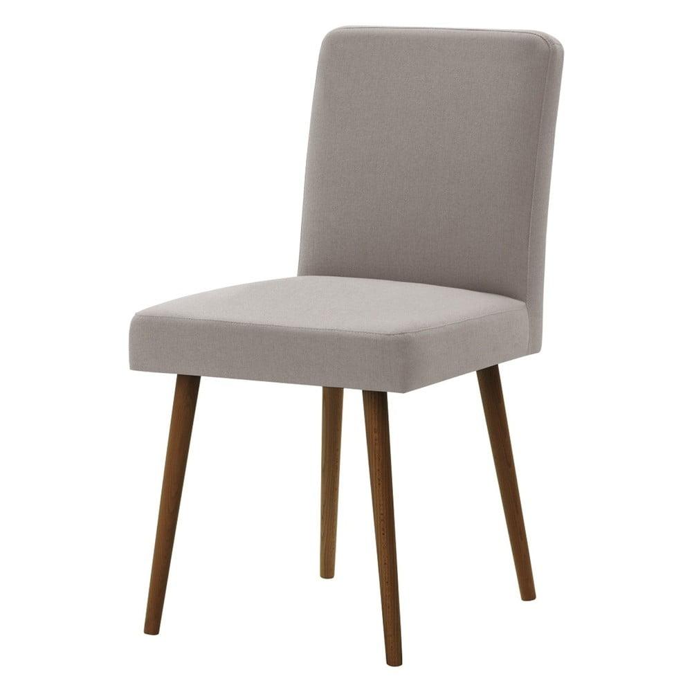 Šedohnědá židle s tmavě hnědými nohami Ted Lapidus Maison Fragrance