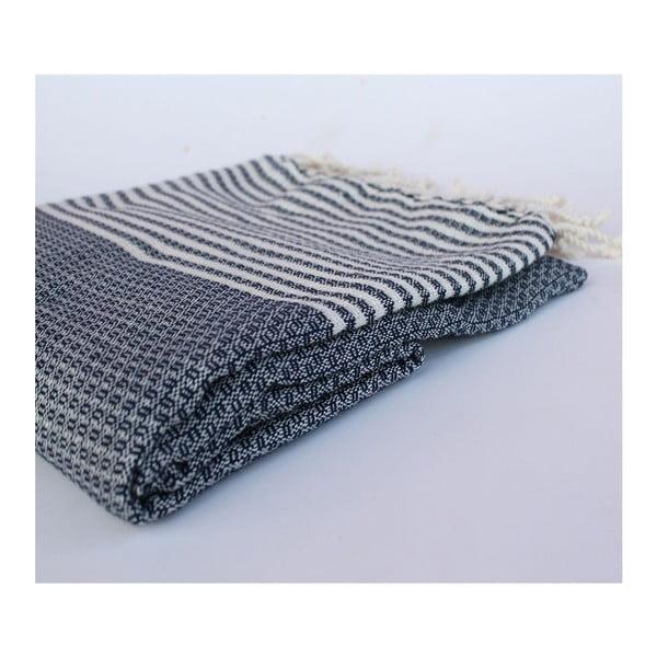 Peshtamal Stripy Navy, 100x180 cm