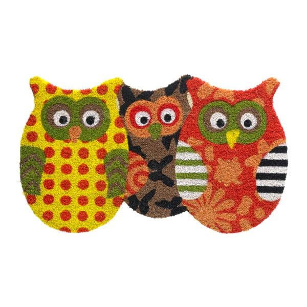 Preș Hamat Owls Friends, 45x75cm