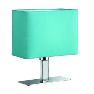 Stolní lampa Ming, tyrkysová
