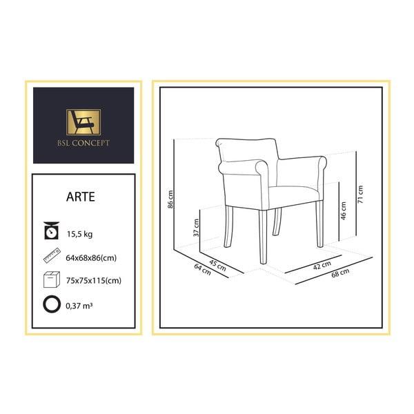 Béžové křeslo BSL Concept Arte