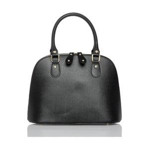 Černá kožená kabelka Glorious Black Marge