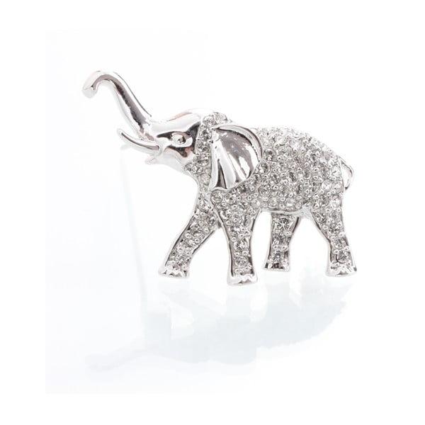 Brož se Swarovski krystaly Laura Bruni Elephant