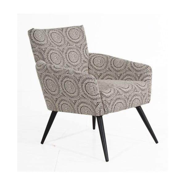 Jörn bézs mintás fotel - Max Winzer