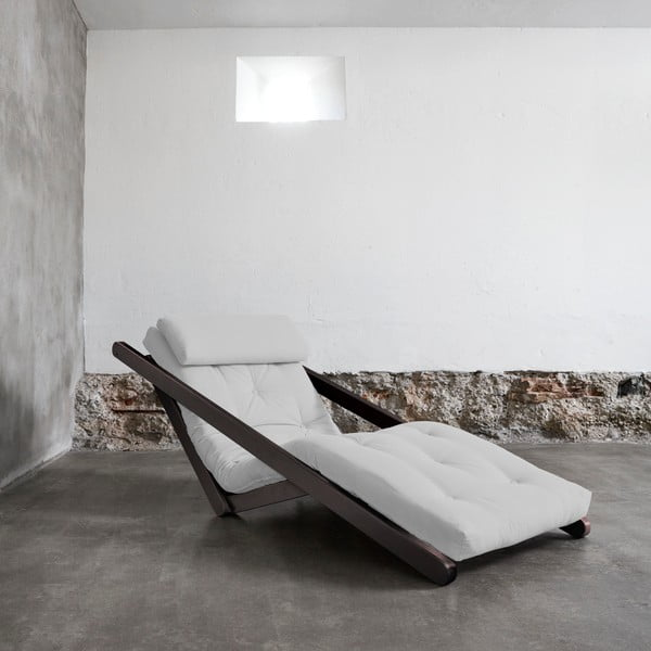 Figo Wenge/Light Grey átalakítható fotel - Karup