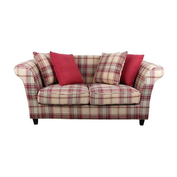 Sofa pro dva Red Chequer