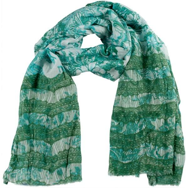 Šátek s příměsí hedvábí Shirin Sehan Ava