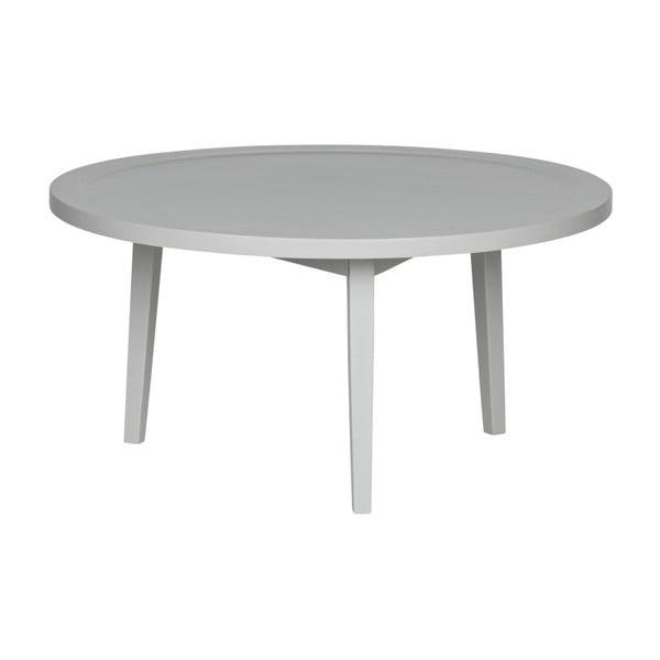 Sivý konferenčný stolík vtwonen Sprokkeltafel, ⌀ 80 cm