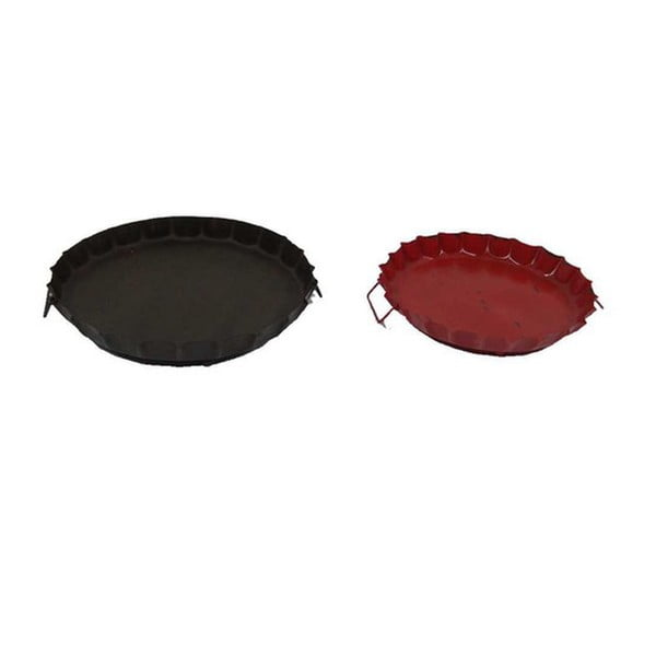 Set podnosů Rouge et antique, 2 ks