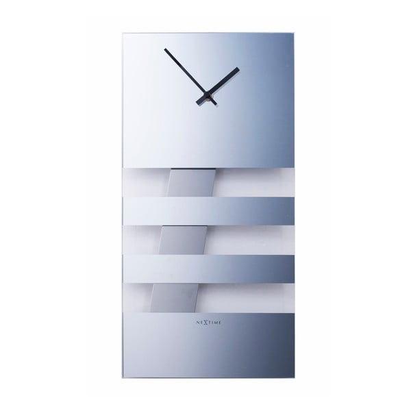 Kyvadlové hodiny Bold Stripes, zrcadlové 38 cm