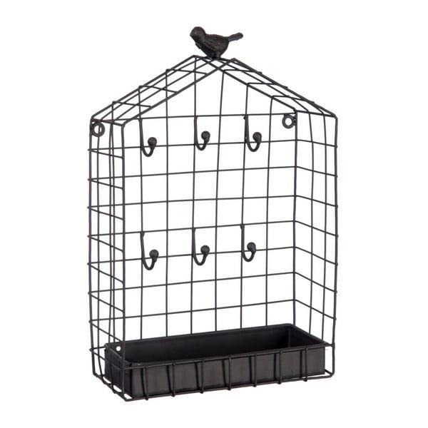 Věšák na klíče Bird Cage, 19x8x31 cm