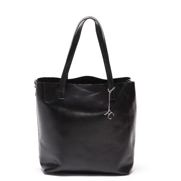 Kožená kabelka Renata Corsi 3001 Nero