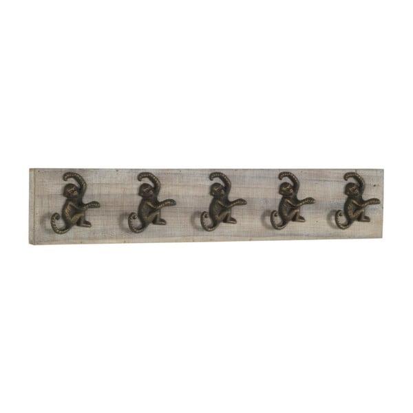 Cuier pentru perete cu 5 cârlige Geese Monkey