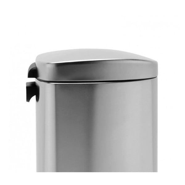 Stříbrný pedálový koš simplehuman, 30 l