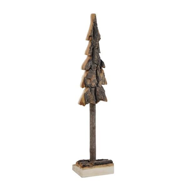 Drevená dekorácia v tvare stromčeka Ego Dekor, výška 44 cm