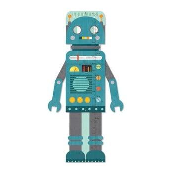Metru pentru copii Petit collage Blue Robot