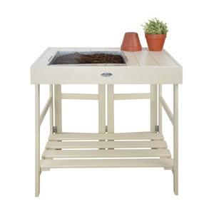 Skládací stolek z borovicového dřeva na přesazování květin Esschert Design Farma