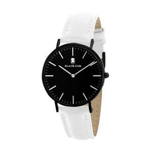Černobílé dámské hodinky Black Oak Crown