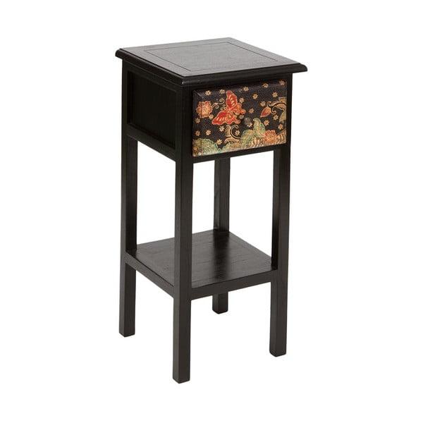 Batik fekete dohányzóasztal mindi fából - Santiago Pons